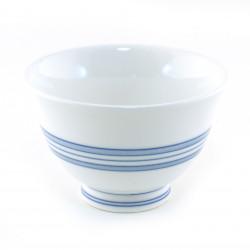 taza de té japonés, BURURAIN, blanco