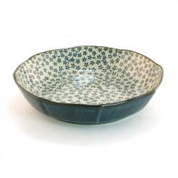 assiette creuse japonaise en céramique ronde KAKKM50