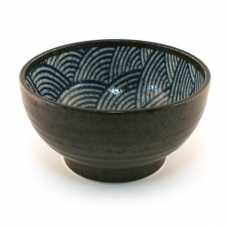 Japanese bowl 16M41817463 wave Nami