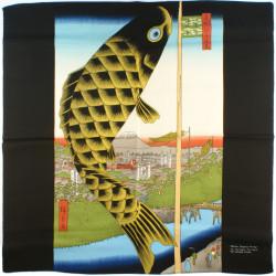 furoshiki japonés, SUIDO SURUGADAI, Hiroshige