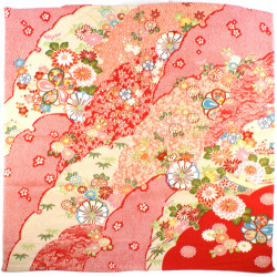 furoshiki japonais rouge Kikka