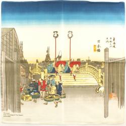furoshiki japonés, NIHONBASHI, Hiroshige