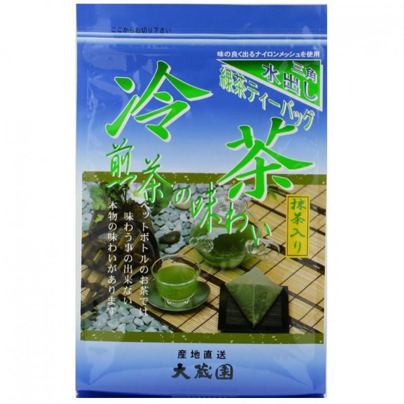 20 bags of japenese green tea Reicha Sencha REICHASEN for cold green tea