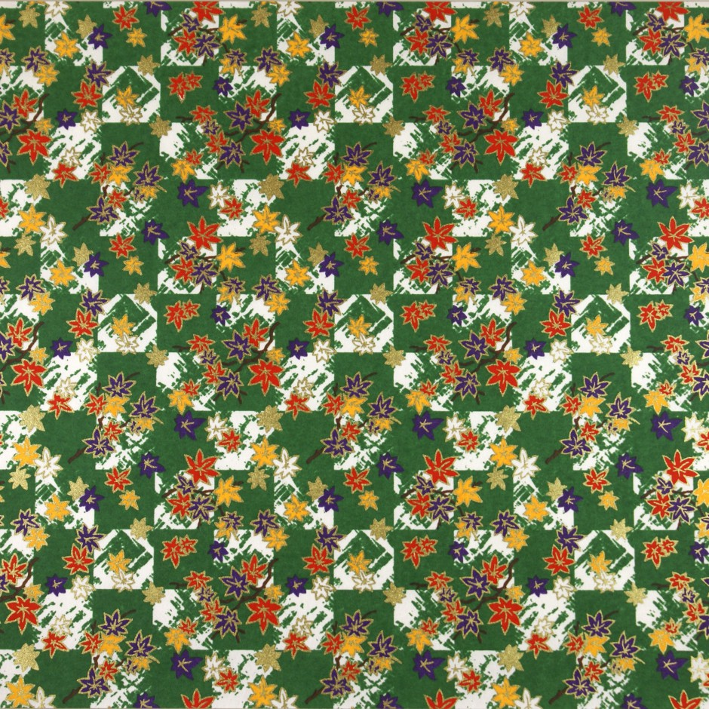 Japanese Washi paper Yuzen designed By Taniguchi Kyoto Japan 8004