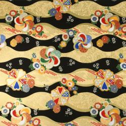 feuille papier japonais, YUZEN WASHI, 8025