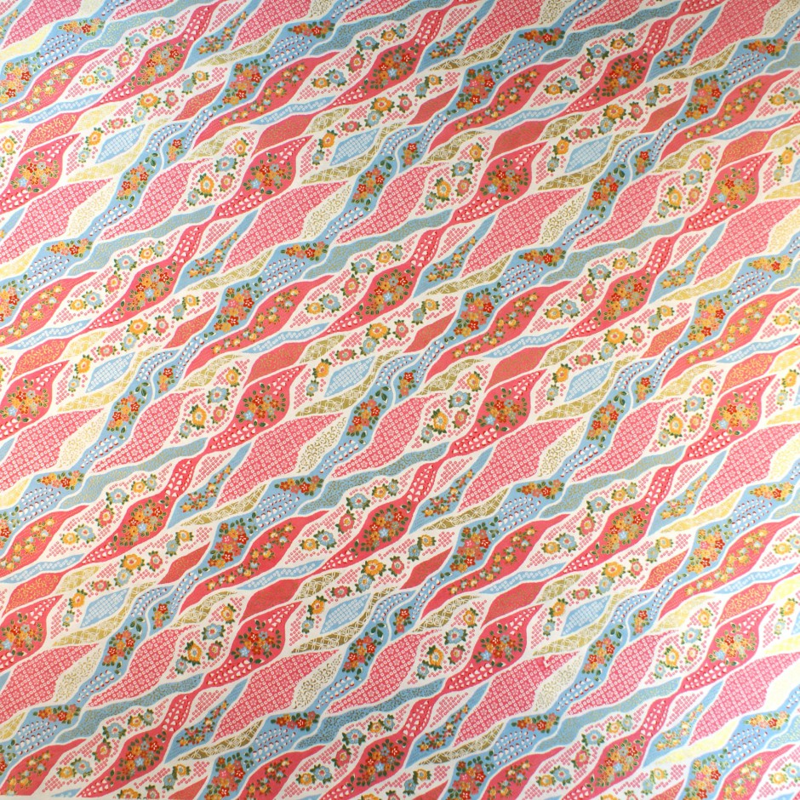 grande feuille de papier japonais Yusen Washi 50x66 cm 8043