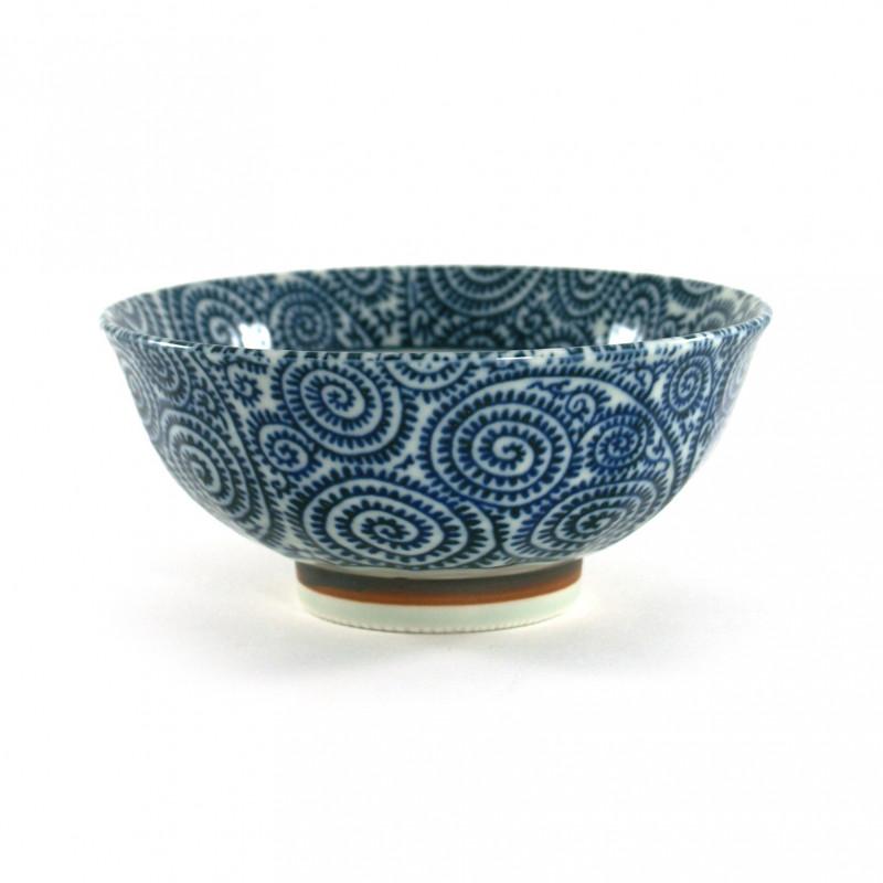 Japanese blue rice bowl CHG27