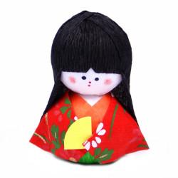 bambola giapponese okiagari protettore, MEIKO, geisha
