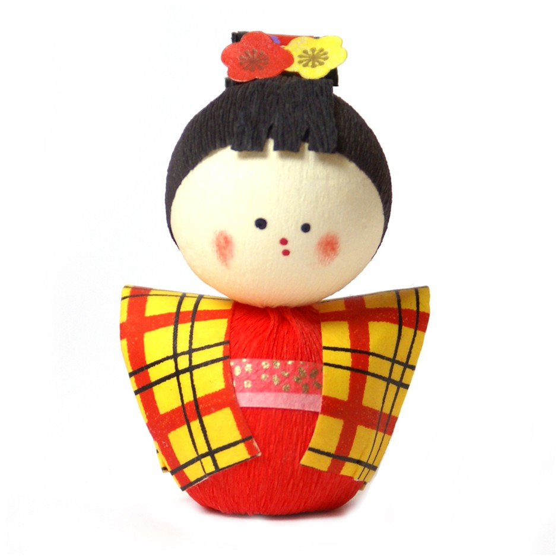 japanese okiagari doll KOMACHI