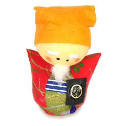 bambola giapponese okiagari protettore, MITOKOMON, consulente