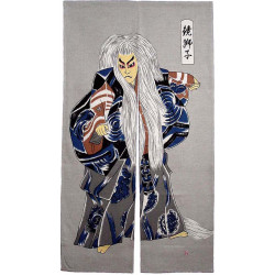 Tenda giapponese noren, NO PLAY, kabuki