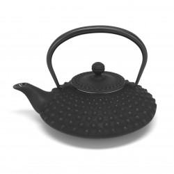 théière noire japonaise en fonte. Iwachu 0.5 lt. Kambin
