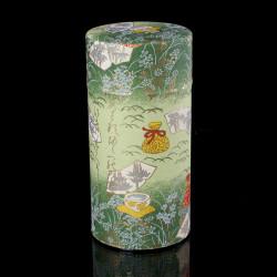 boîte à thé japonaise en papier washi