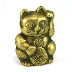 cast iron paper press, MANEKINEKO, lucky cat