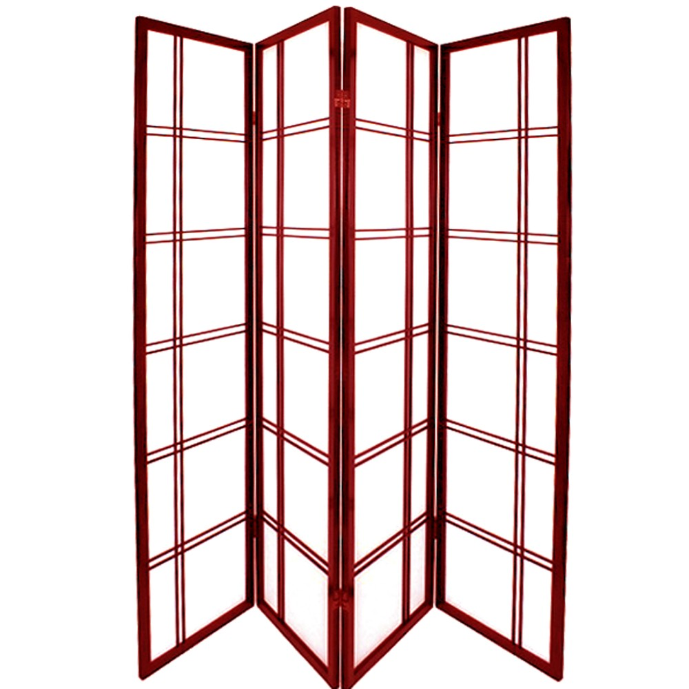 japanese wooden screens. double croix