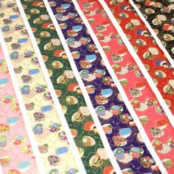 großes japanisches Papierblatt, YUZEN WASHI, Purse
