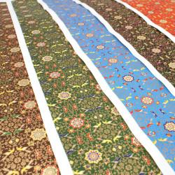 large Japanese paper sheet, YUZEN WASHI, Star