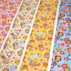 großes japanisches Papierblatt, YUZEN WASHI, Flower