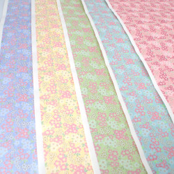 großes japanisches Papierblatt, YUZEN WASHI, sakura