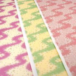 large Japanese paper sheet, YUZEN WASHI, CZ-8033