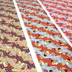 large Japanese paper sheet, YUZEN WASHI, CZ-8037