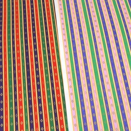 feuille papier japonais, YUZEN WASHI, 8019