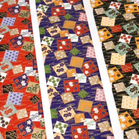 feuille papier japonais, YUZEN WASHI, 8010