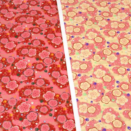 feuille papier japonais, YUZEN WASHI, 8016