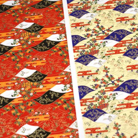 hoja de papel japonés, YUZEN WASHI, 8003
