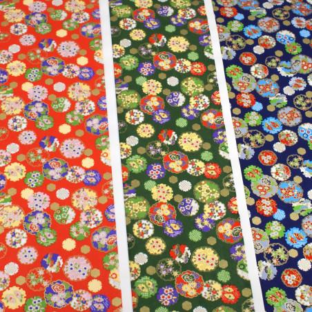 feuille papier japonais, YUZEN WASHI, 8030