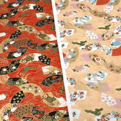 feuille papier japonais, YUZEN WASHI, 8026