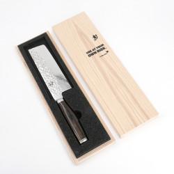 Japanese kitchen knife KAI SHUN premier acier damas nakiri