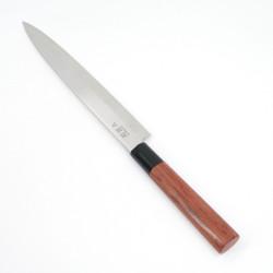 Japanese kitchen knife KAI Seki Magoroku red wood Yanagiba