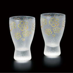 duo di bicchieri da sakè giapponesi - sakura