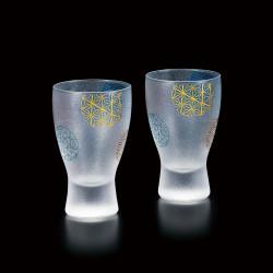 duo di bicchieri giapponesi da sake duo - temari