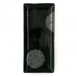 assiette japonaise en céramique rectangulaire MYA144111D
