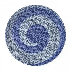 japanese round plate 1617404 nami