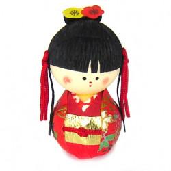 bambola giapponese okiagari protettore, OHIMESAMA, principessa