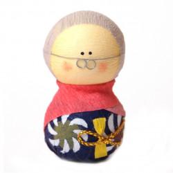 bambola giapponese okiagari protettore, SOFUDO, donna