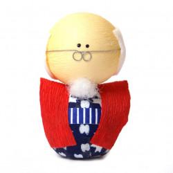 bambola giapponese okiagari protettore, SOFUDO, uomo