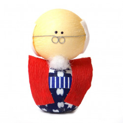 muñeca japonesa de papel - okiagari, SOFUDO, hombre