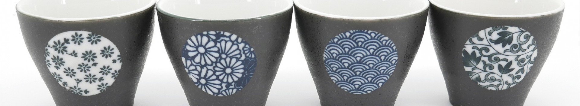 Set of Japanese cups made in Japan